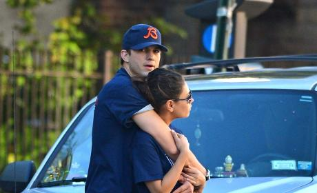 Kutcher and Kunis