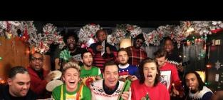 "One Direction, Jimmy Fallon: ""Santa Claus is Coming to Town"""