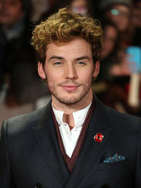 Sam Claflin at Catching Fire Premiere