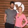 Maksim Chmerkovskiy and Peta Murgatroyd Photo