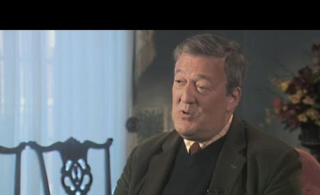 Stephen Fry Throws Major Shade at God