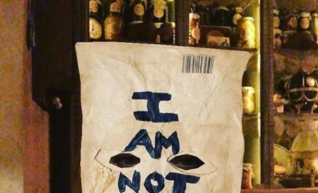 Lindsay Lohan Wears a Bag