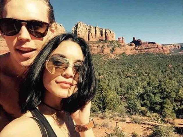 Vanessa Hudgens Fined for Defacing Public Property - The Hollywood Gossip