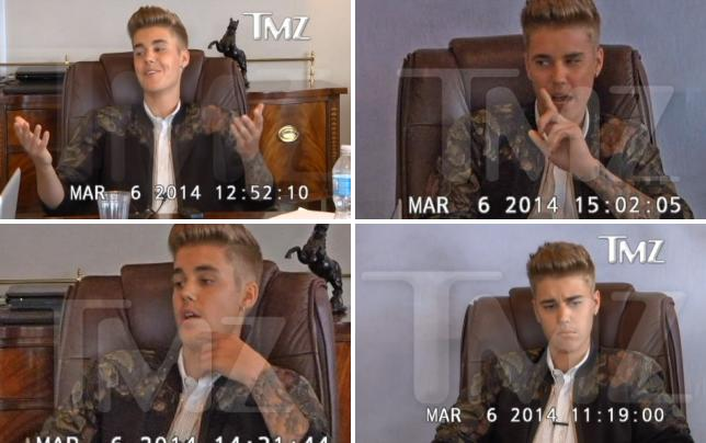 Justin bieber deposition footage part 1