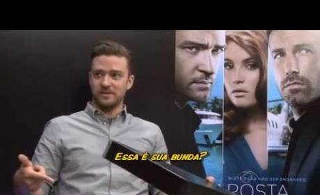Justin Timberlake on Panico na TV