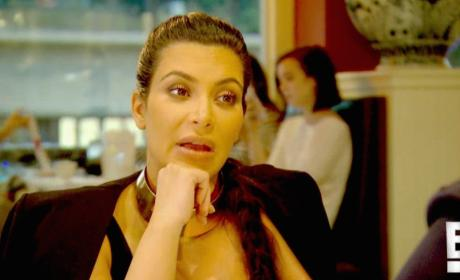 Kim Kardashian Says Weird Stuff About Saint West