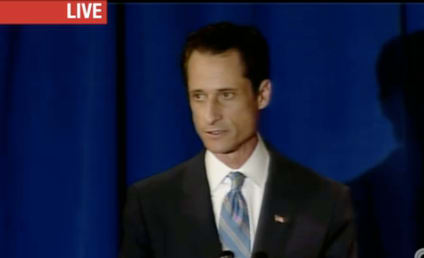 """Anthony Weiner Admits to Lewd Photos, Labels Actions a """"Personal Failing"""""""