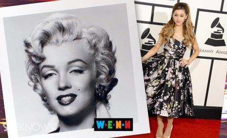 Ariana Grande Marilyn Monroe Tweet
