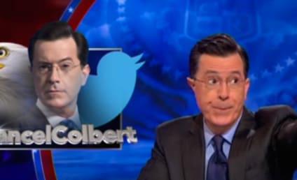 Stephen Colbert Addresses #CancelColbert Movement, Blows Up Twitter Account