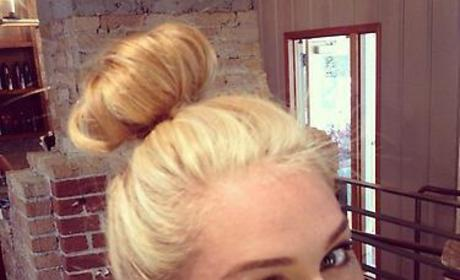 Miley Cyrus, New Hair