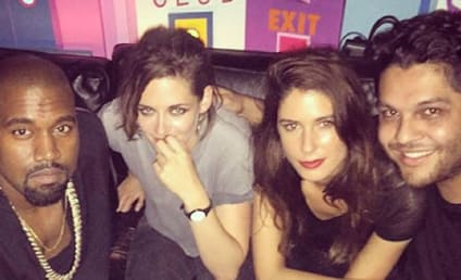 Kristen Stewart and Kanye West: Spotted in Paris!