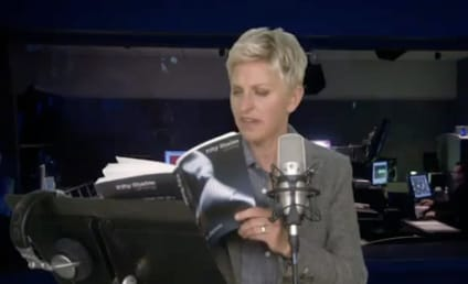 Ellen Reads From Fifty Shades of Grey, is Mortified