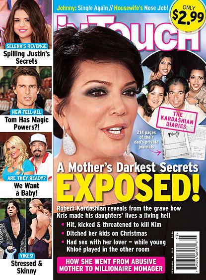 Kris Jenner Tabloid Cover
