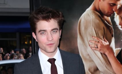 Robert Pattinson Gets Waxed
