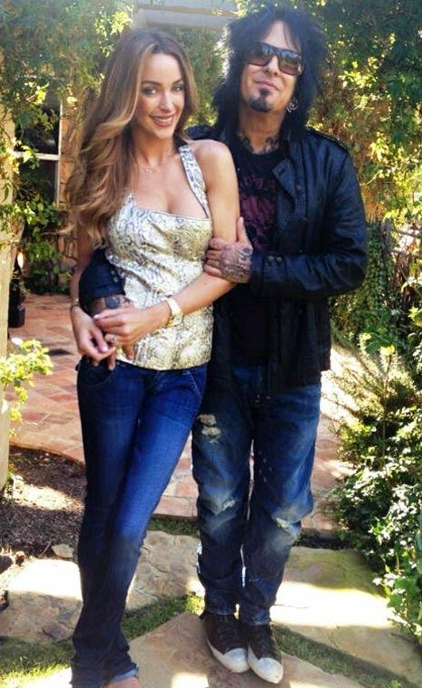 Nikki Sixx and Courtney Bingham