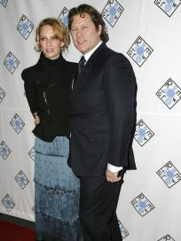Arpad Busson and Uma Thurman