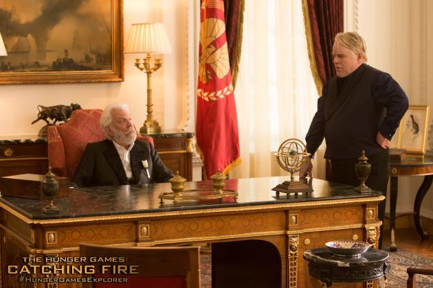 Philip Seymour Hoffman in Catching Fire