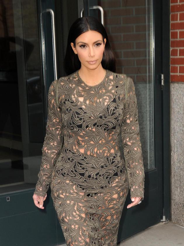 Seeing Through Kim Kardashian