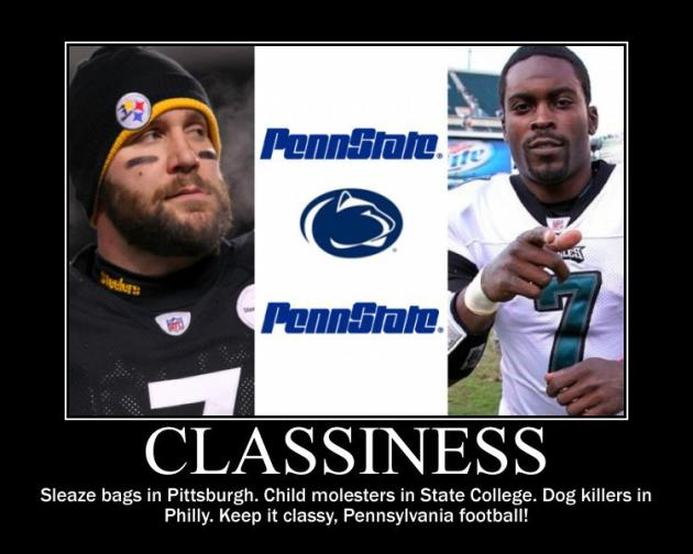 Pennsylvania Football Motivational Poster