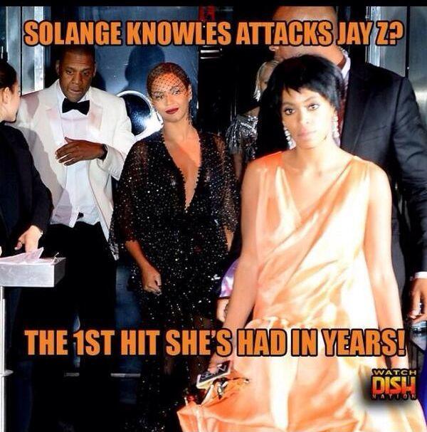 Slamming Solange