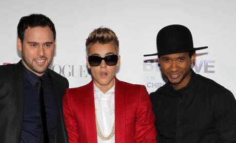 Usher on Justin Bieber: I'll Punch Him in the F--king Chest!