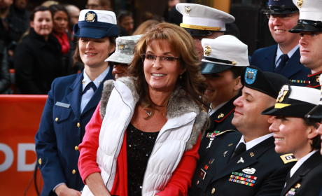 Sarah Palin and Armed Forces