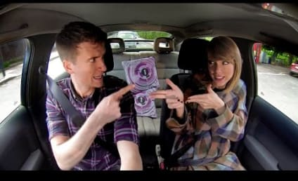 "Taylor Swift Lip-Syncs to ""Blank Space,"" Knows All the Words"