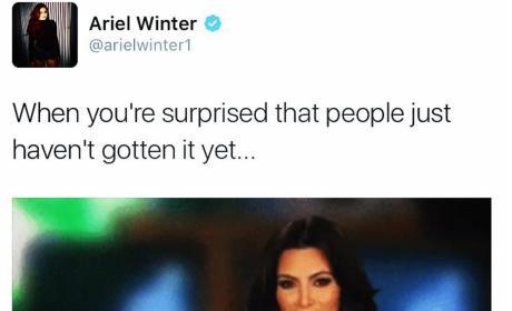 Ariel Winter Confirms Single Status