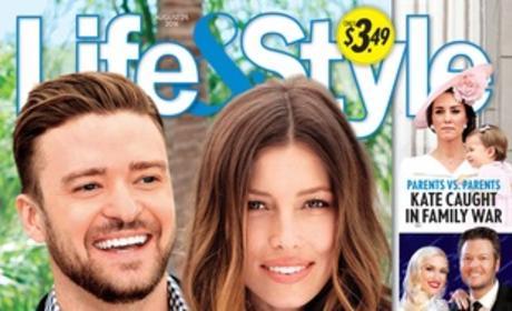 Justin Timberlake Jessica Biel Life & Style August 29th 2016