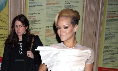 Rihanna's Wedding Dress