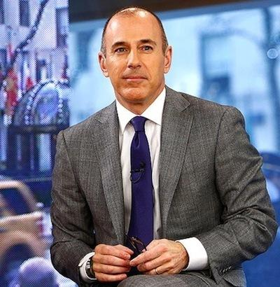 Matt Lauer Today Show Shot