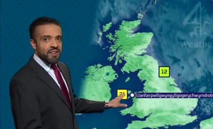Weatherman Flawlessly Pronounces Longest Village Name EVER