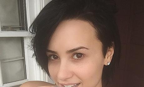 No Makeup Demi Lovato