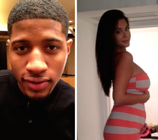 Paul George, Stripper Photo