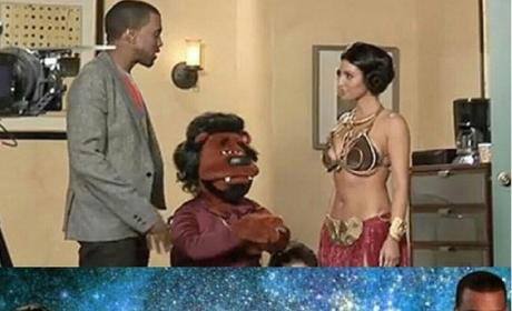 Kim and Kanye: First Meeting Photo