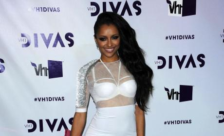 Kat Graham in White