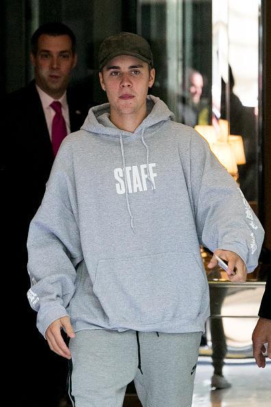 Justin Bieber Keeping It Real In Paris