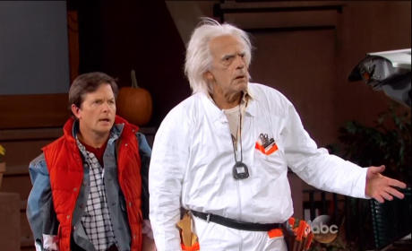 Marty McFly and Doc Brown to Jimmy Kimmel: 2015 Sucks!