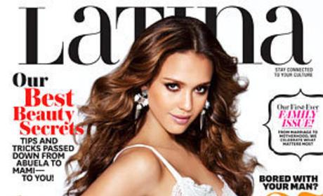 Jessica Alba Latina Magazine Cover