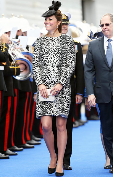 Kate Middleton Dalmatian Dress