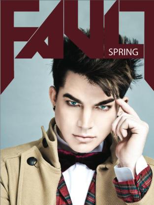 Adam Lambert Fault Cover