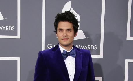 John Mayer Purple Tux Pic