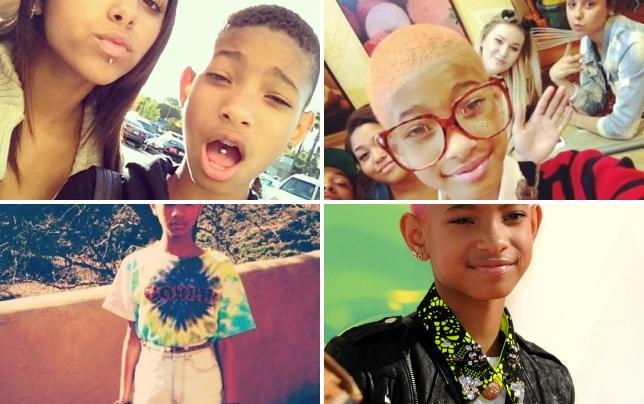 Willow smith with a tongue piercing