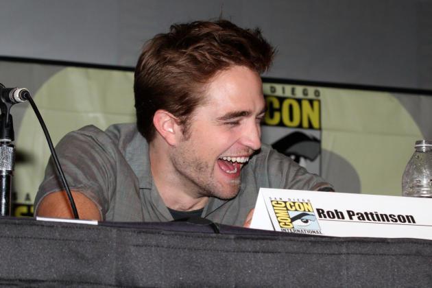 Robert Pattinson Laughing