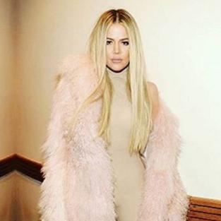 Khloe Kardashian Wears Kanye West's Designs