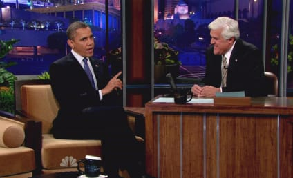 Jay Leno Slams Barack Obama for Libya Mess, Lena Dunham Ad