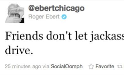 Roger Ebert Slams Ryan Dunn on Twitter