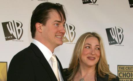Brendan Fraser: Broke! Fighting Afton Smith Child Support Payments!