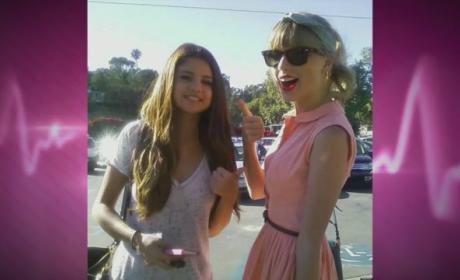 Selena Gomez and Taylor Swift at MET Gala 2014