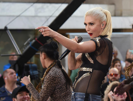 Gwen Stefani Today Show Performance 2016